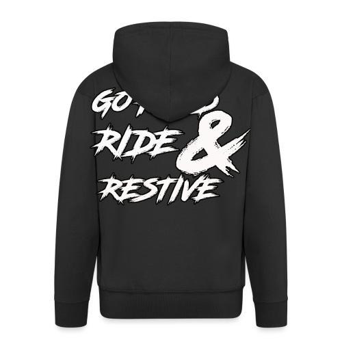 Go hard - Men's Premium Hooded Jacket