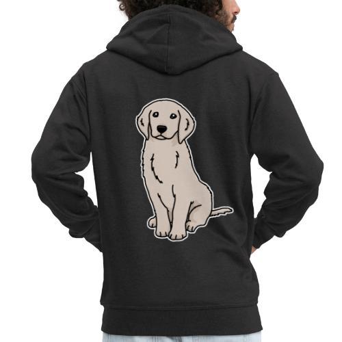 Golden Retriever, Hund, Hunderasse, Geschenk, Tier - Männer Premium Kapuzenjacke