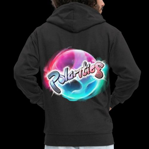 Polarities Logo - Men's Premium Hooded Jacket