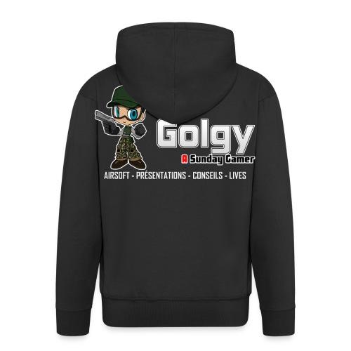 golgy logo 2018 HD V2 - Veste à capuche Premium Homme
