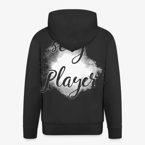 sexy player gamer spieler spiel black 2reborn - Männer Premium Kapuzenjacke