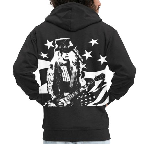 Lazy X - On Stage - Men's Premium Hooded Jacket