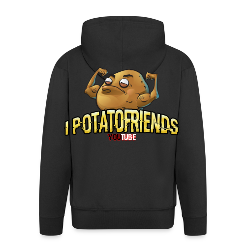 I-POTATOFRIENDS - Felpa con zip Premium da uomo