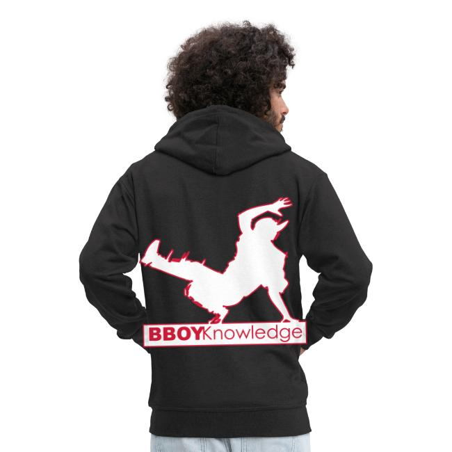"""Bboy knowledge Logo """"Multi color,make your choice"""""""