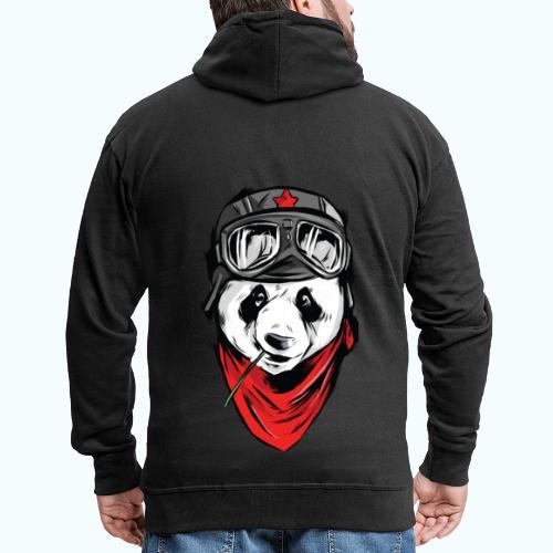 Panda pilot - Men's Premium Hooded Jacket