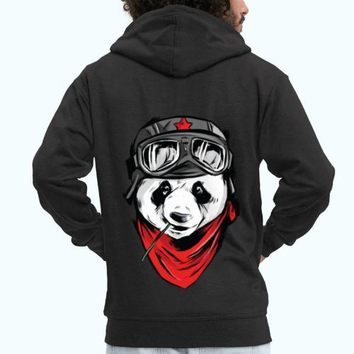 Panda pilot - Men's Premium Hooded Jacket