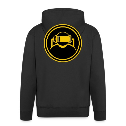 Mens Slim Fit T Shirt. - Men's Premium Hooded Jacket