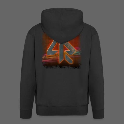 LPR Gaming BG Splash (Women) - Men's Premium Hooded Jacket