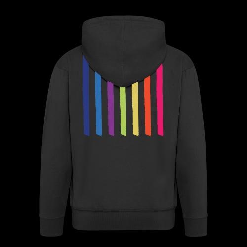Lines - Men's Premium Hooded Jacket