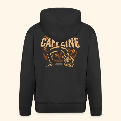 Kaffee T Shirt - Männer Premium Kapuzenjacke