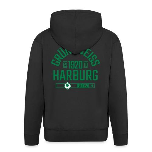 SV Grün-Weiss Harburg estd. - Männer Premium Kapuzenjacke
