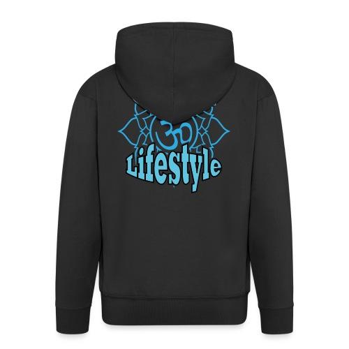 Goa Lifestyle 2.png - Männer Premium Kapuzenjacke