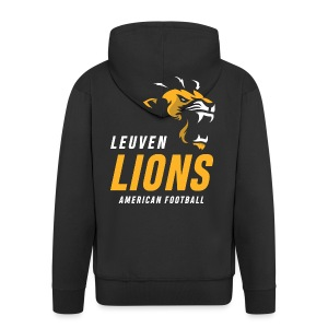 Lions football - Men's Premium Hooded Jacket