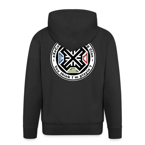 Executive-Clan-Wear - Männer Premium Kapuzenjacke