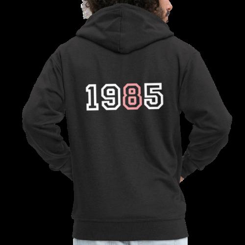 1985 - Chaqueta con capucha premium hombre