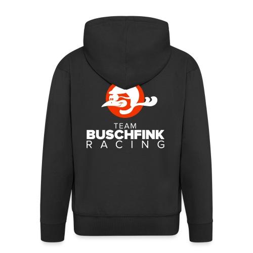 Team Buschfink Logo On Dark - Men's Premium Hooded Jacket