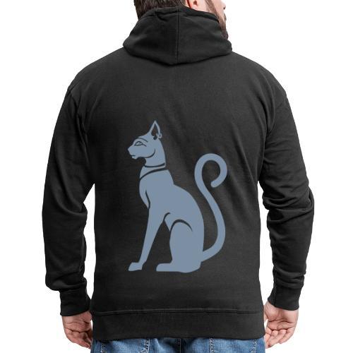 Bastet - Katzengöttin im alten Ägypten - Männer Premium Kapuzenjacke
