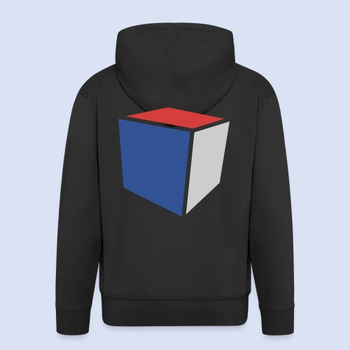 Cube Minimaliste - Veste à capuche Premium Homme
