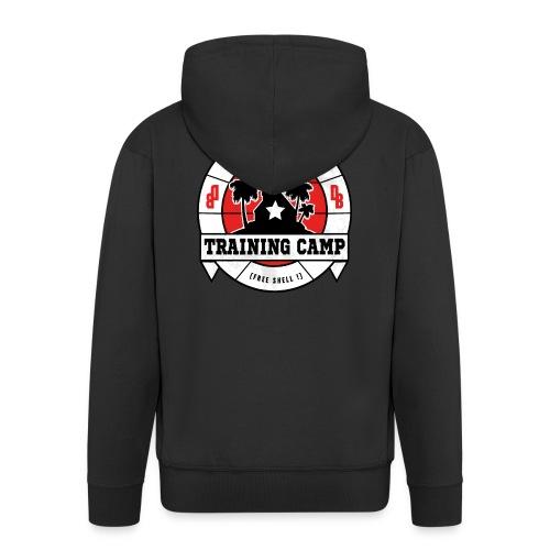 kame senin camp - Men's Premium Hooded Jacket