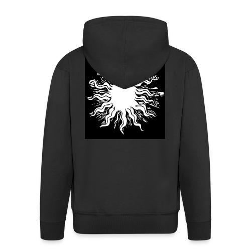 sun1 png - Men's Premium Hooded Jacket