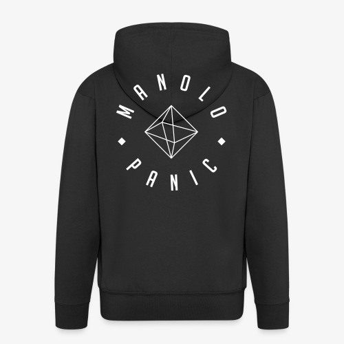 Manolo Panic - Logo fine - Männer Premium Kapuzenjacke