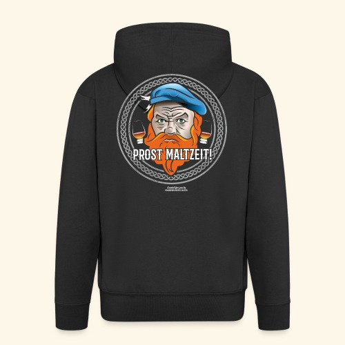 Whisky T Shirt Design Prost Maltzeit - Männer Premium Kapuzenjacke