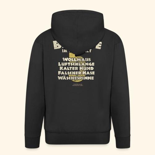 Sprüche T Shirt Big Five im Haushalt - Männer Premium Kapuzenjacke