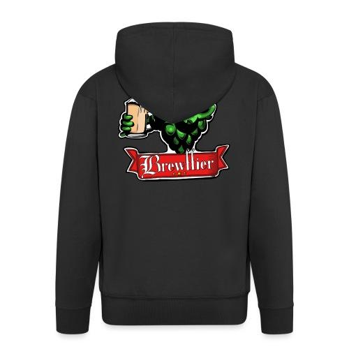 Logo Brasserie Brewffier - Veste à capuche Premium Homme