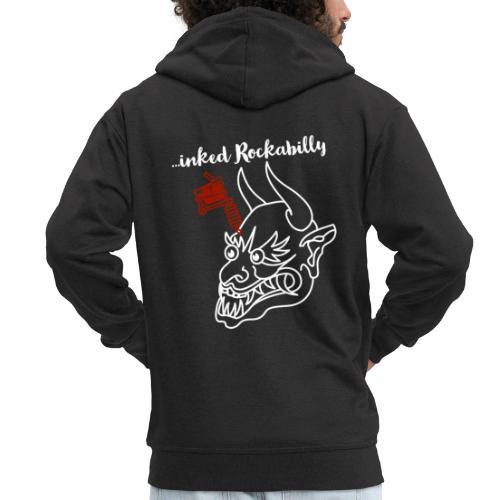...inked Rockabilly, Rockabella, Psychobilly. - Männer Premium Kapuzenjacke