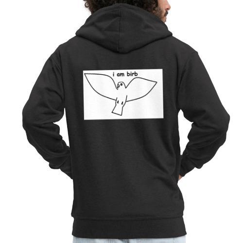 i am birb - Men's Premium Hooded Jacket