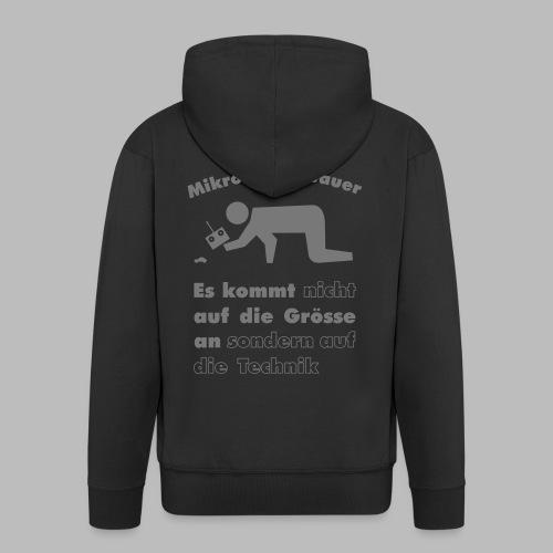 Mikromodellbau Weisheit - Männer Premium Kapuzenjacke