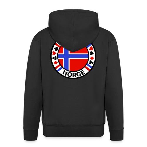 PoKeR NoRGe - Men's Premium Hooded Jacket