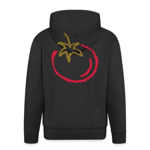 tomato 1000points - Men's Premium Hooded Jacket