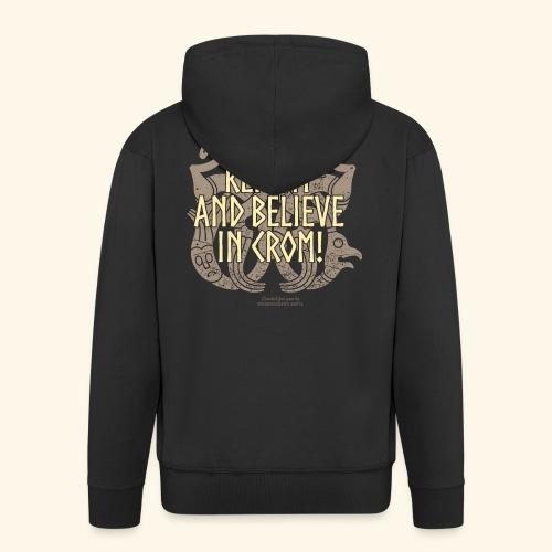 Crom T Shirt - Männer Premium Kapuzenjacke