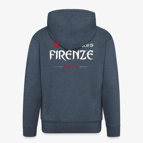Republic of Florence - Felpa con zip Premium da uomo