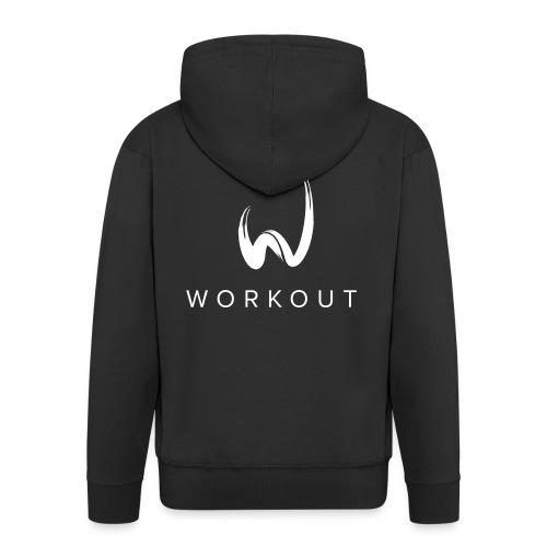 Workout - Männer Premium Kapuzenjacke