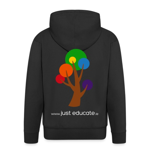 Just Educate.ie - Men's Premium Hooded Jacket