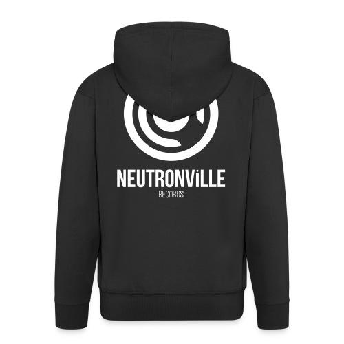 Neutronville Records Logo - Männer Premium Kapuzenjacke