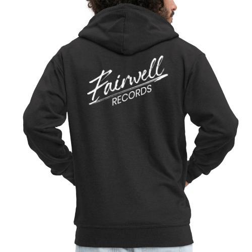 Fairwell Records - White Collection - Herre premium hættejakke