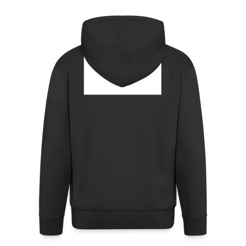 Furkan A - Zwarte sweater - Mannenjack Premium met capuchon