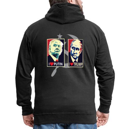 Trump Putin - Mannenjack Premium met capuchon