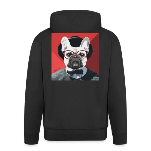 French Bulldog Artwork 2 - Männer Premium Kapuzenjacke