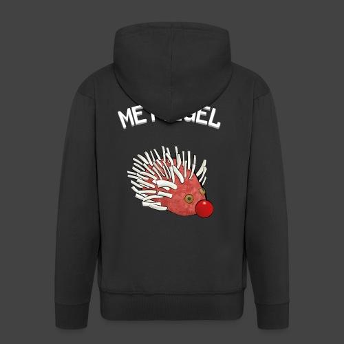Mettigel - Männer Premium Kapuzenjacke