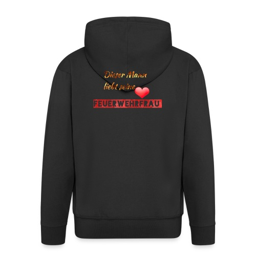 FEUERWEHR - Männer Premium Kapuzenjacke