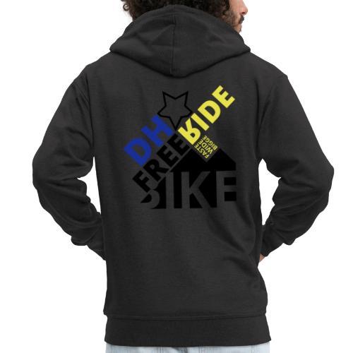DH Freeride Bike - Männer Premium Kapuzenjacke