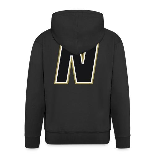 Nordic Steel Black N - Men's Premium Hooded Jacket