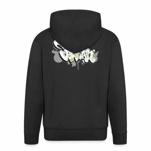 Mesk 2Wear graffiti style 7up ver02 - Herre premium hættejakke