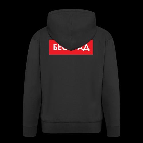 Beograd - Utoka - Männer Premium Kapuzenjacke