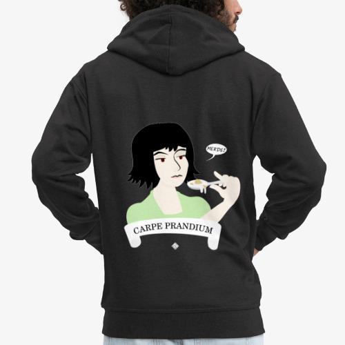 Carpe Prandium - Men's Premium Hooded Jacket