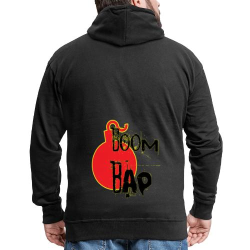 Boom Bap - Men's Premium Hooded Jacket